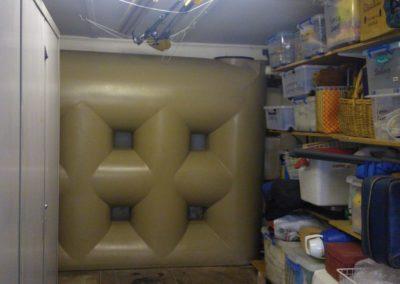 3000L inside a garage